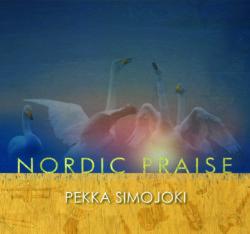 Pekka Simojoki Nordic Praise - levyn kansi, jossa joutsenia
