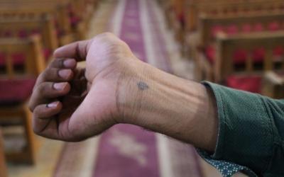 Siinain terroristit surmasivat miehen ristitatuoinnin vuoksi