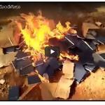 Videoita Intiasta: Hindunationalistit polttavat Raamattuja