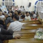 Libyassa teloitettujen koptikristittyjen ruumiit palautettiin Egyptiin