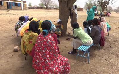 Open Doorsin yhteistyökumppanit auttavat paineen alla eläviä sudanilaisia leskiä