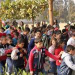"""TURVALLINENKASVUPAIKKA """"Tartu käteeni""""-hanke Egyptin pohjoisosien lapsille"""