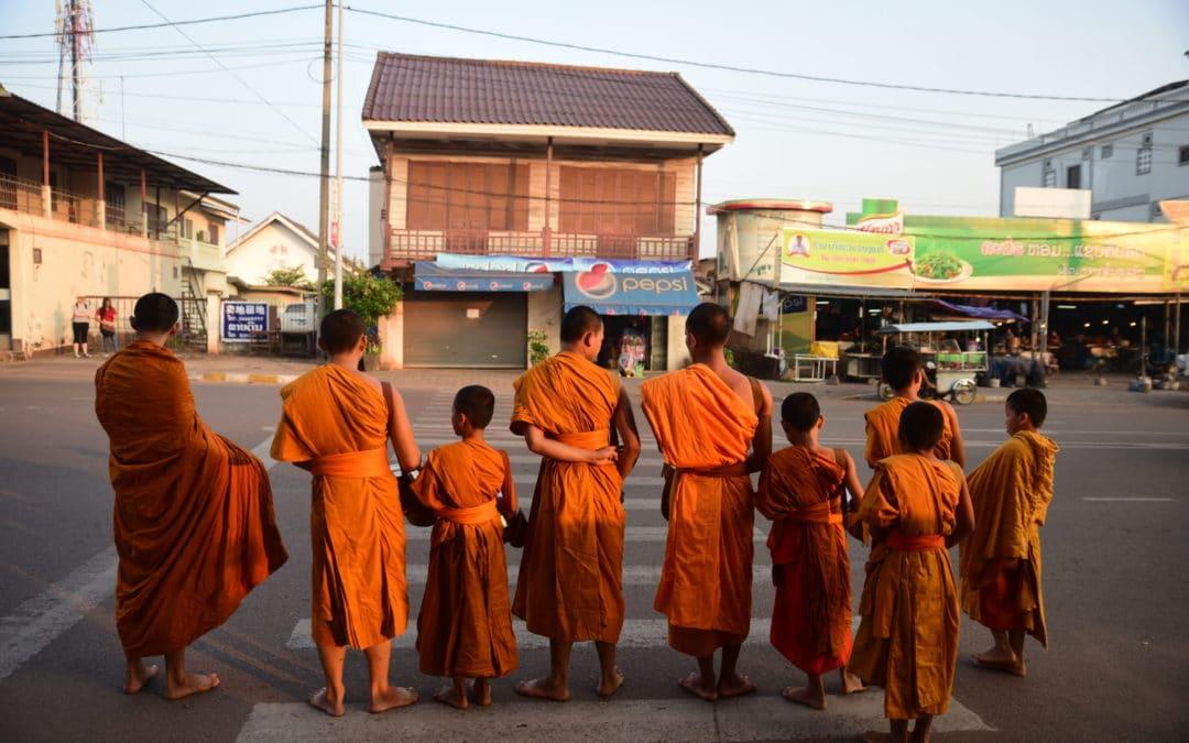 Buddhalaisten kotiseuduilla