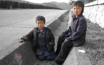 Kristitty lapsi on harvinaisuus Pohjois-Koreassa