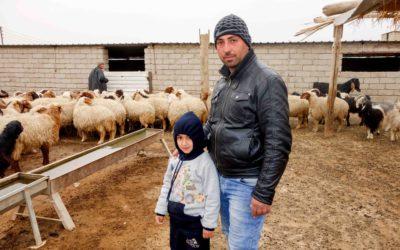 Työtä ja toivoa Irakissa