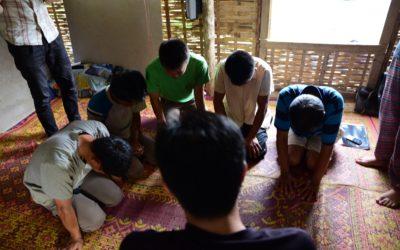 Rohkaiseva tapaaminen Beunin kanssa Laosissa