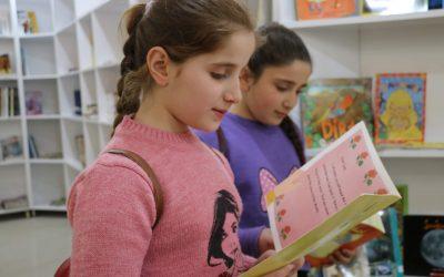 Qaraqoshin kristityt ovat ylpeitä uudelleen avatusta kirjastostaan