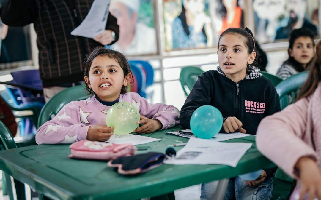 Toivon keskukset ihmisten rinnalla auttamassa Syyriassa