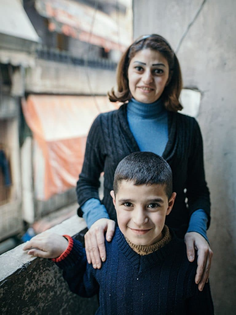Jina ja hänen poikansa Abraham