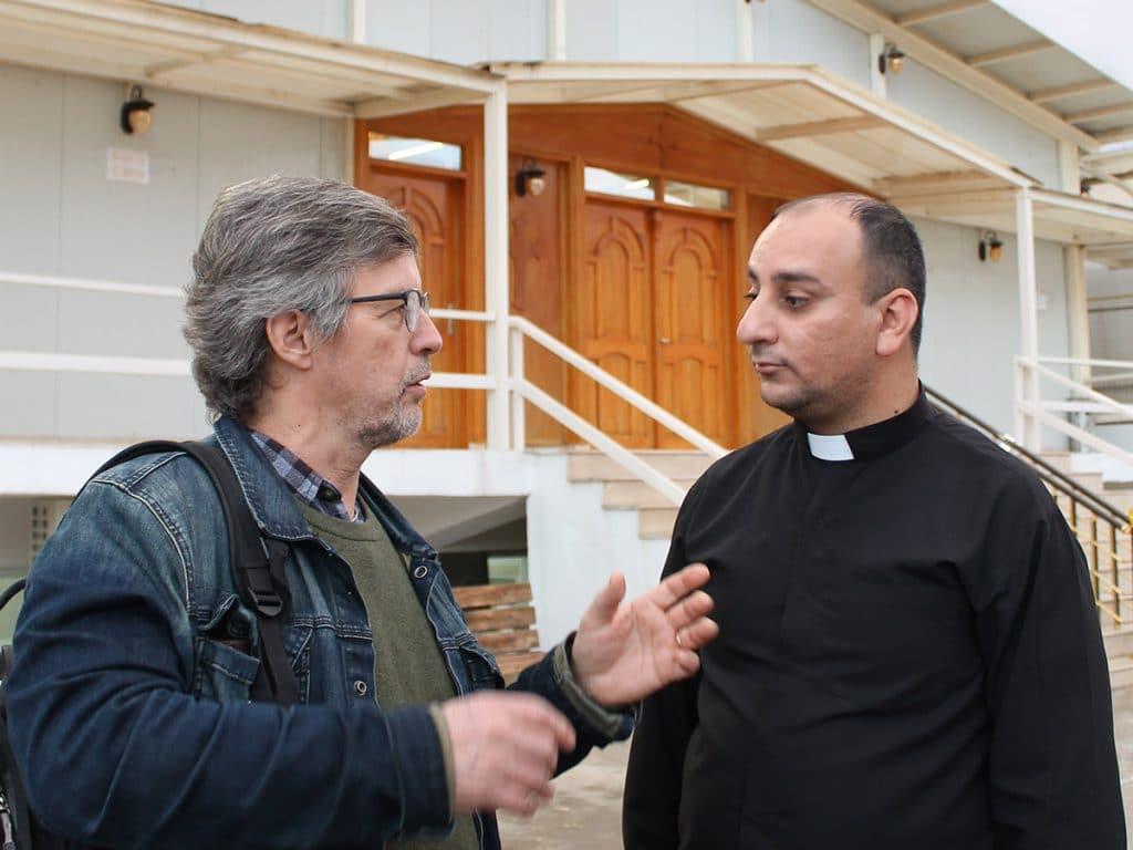 Pekka Simojoki ja irakilainen pastori