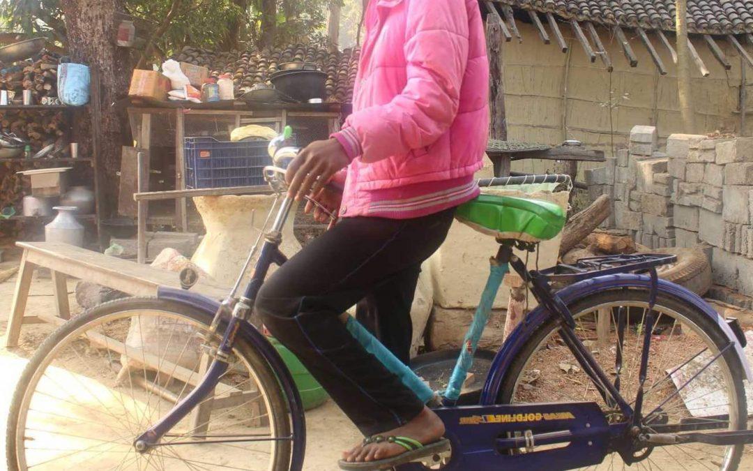 Polkupyörä voi muuttaa elämän ja mahdollistaa pääsyn toisten kristittyjen luo Intiassa