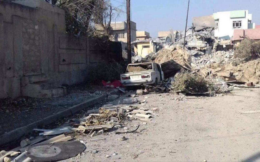Irak: Mosulin kaduilla on edelleen vaarallista IS-taistelijoiden ja koronaviruksen takia