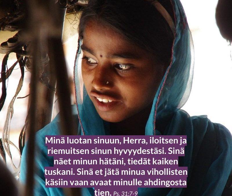 Maailman lapset rukous