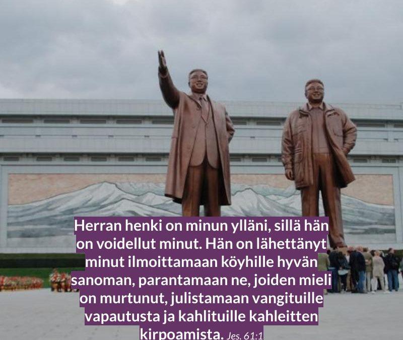 Pohjois-Korea rukous