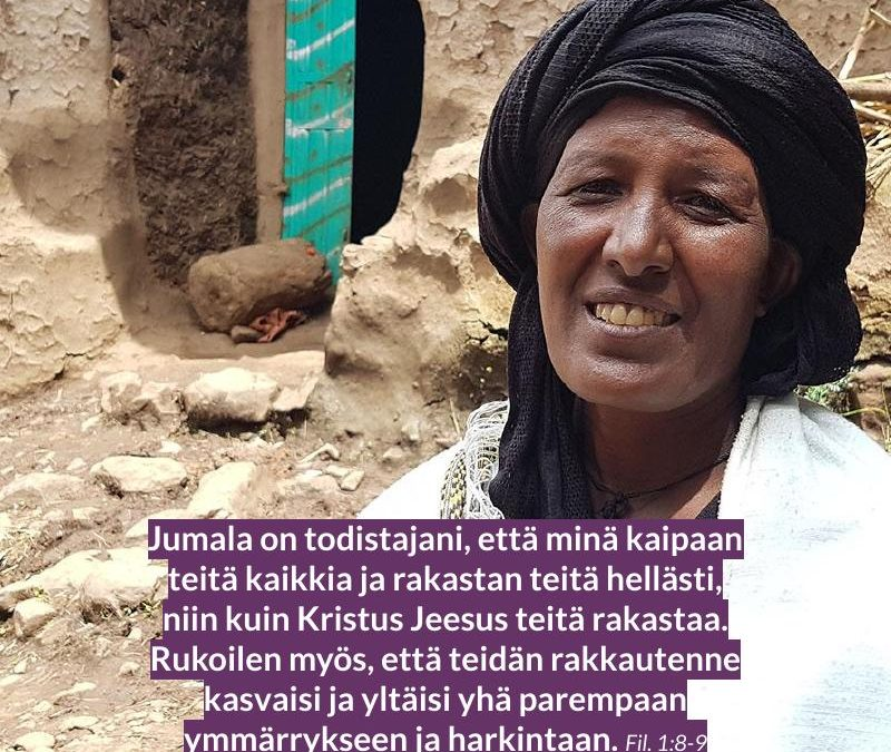 Etiopia rukous