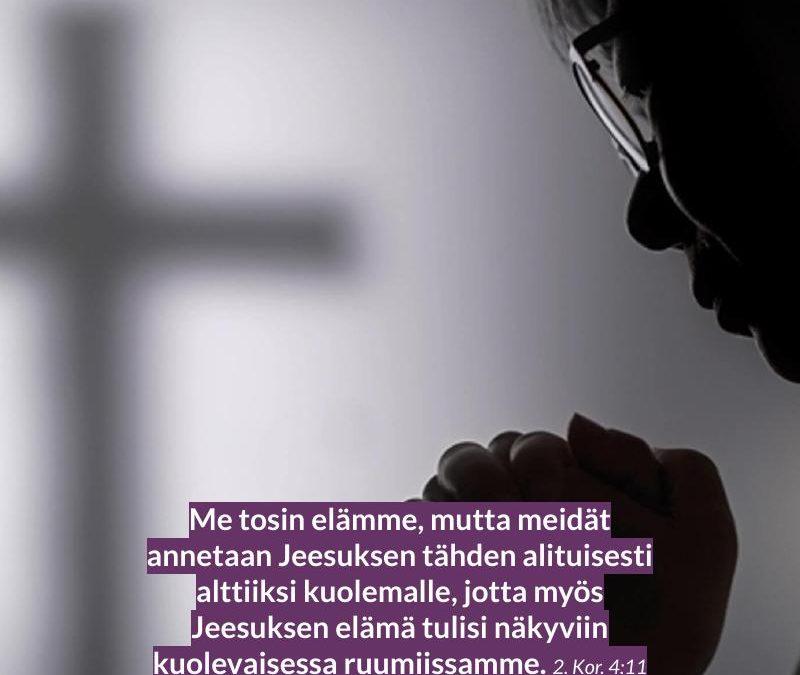 Pitkäperjantai rukous