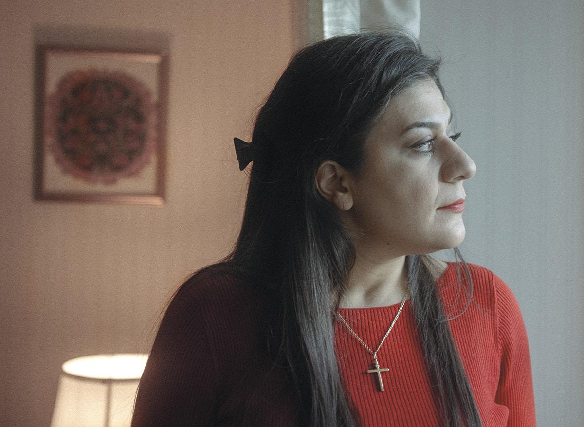 Iranilainen kristitty Saghar