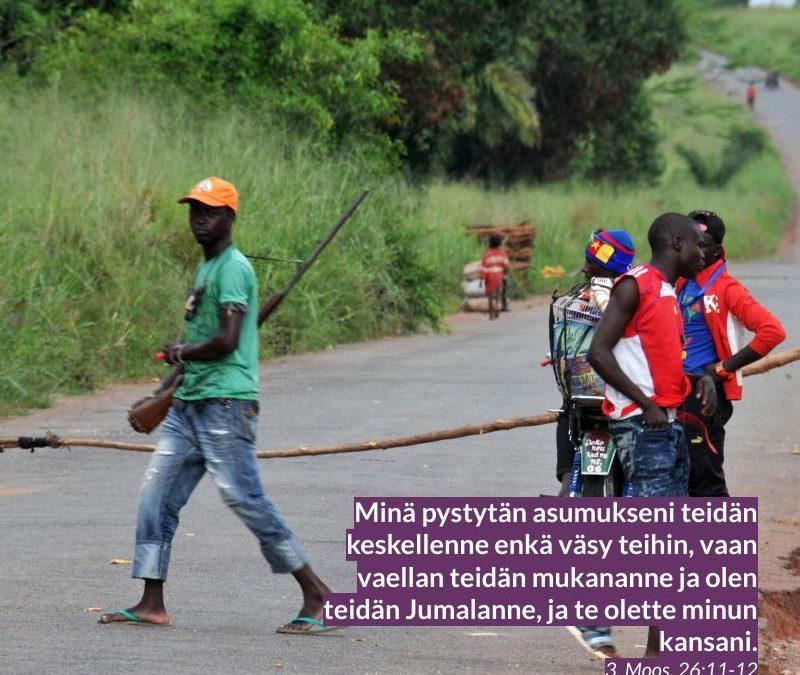Keski-Afrikan tasavalta rukous