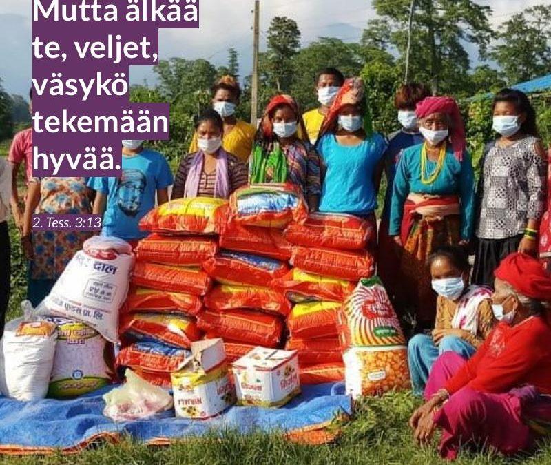 Nepal rukous