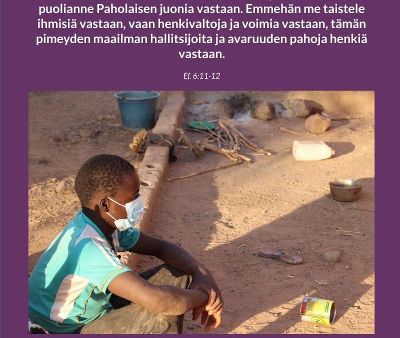 Burkina Faso rukous